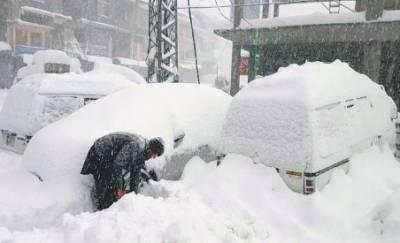 ملک کے بالائی علاقے برف کی چادر سے ڈھک گئے, سوات, وادی کالام،مالم جبہ اور میاندم ویلی نے سفید چادر اوڑھ لی
