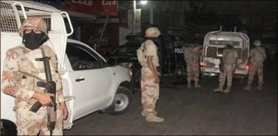 کراچی:شرافی گوٹھ میں پولیس اوررینجرزکی مشترکہ کارروائی' 4 ملزمان گرفتار