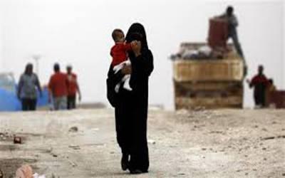 مشرقی شام سے گزشتہ 6 ماہ میں25 ہزار افراد نے نقل مکانی کی۔ اقوام متحدہ