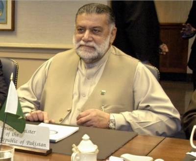 کراچی :سابق وزیر اعظم میر ظفر اللہ خان جمالی علیل ۔ کراچی کے نجی اسپتال میں داخل