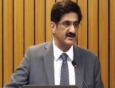 سندھ میں فساد پھیلانے کے لئے آنے والوں سے آہنی ہاتھوں سے نمٹا جائے گا:سید مراد علی شاہ