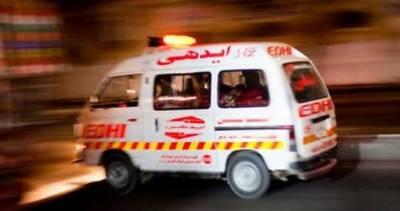 پنجاب: ہولناک ٹریفک حادثہ، 2 افراد جاں بحق،15 زخمی