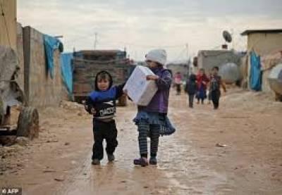 شام میں خانہ جنگی، شدید ٹھنڈ کے باعث 15 بچے ہلاک
