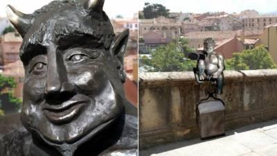 سپین کے شہر سگوویا میں شیطان کا مجسمہ نصب کرنے کا منصوبہ کھٹائی میں پڑ گیا