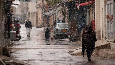 بلوچستان کے مختلف اضلاع میں بارش اور برفباری