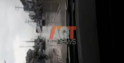 سیالکوٹ : چہرو گردونواح میں بارش جاری، موسم مزید سرد ہوگیا