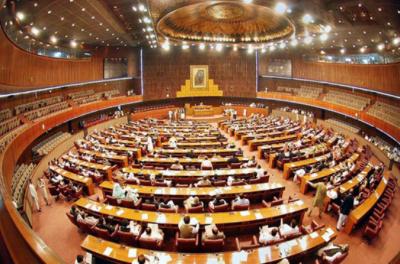 قومی اسمبلی کے ہال میں سخت گرمائش، بعض ارکان نے کوٹ اتار دیے