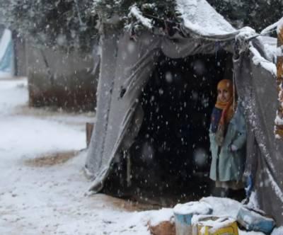 شام میں شدید سردی کے باعث 29 بچے ہلاک ہوگئے: اقوام متحدہ