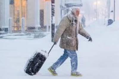 امریکا میں شدید سردی کے باعث اموات کی تعداد 21 ہوگئی