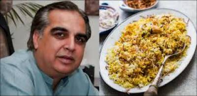 گورنر سندھ کا ہر سال بریانی فیسٹیول منعقد کرنے کا اعلان