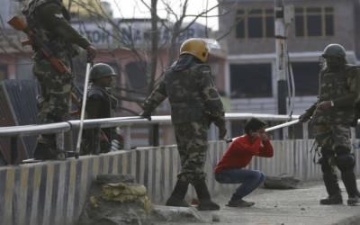 مقبوضہ کشمیرمیں تعینات بھارتی فوجیوں نے جنوری میں18کشمیریوں کو شہیدکیا۔