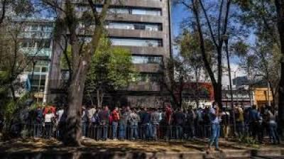 میکسیکو میں شدید زلزلے کے جھٹکے، عمارتیں لرز اٹھیں