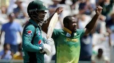 کیپ ٹائون ٹی ٹوئنٹی:جنوبی افریقہ نے پاکستان کو چھ رن سے ہرادیا