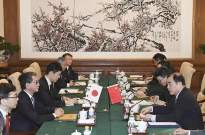 چین اور جاپان کے درمیان باقاعدہ مشاورت اور سیکیورٹی مذاکرات