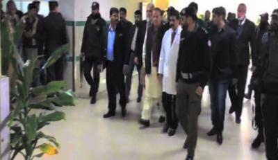 نواز شریف کوٹ لکھپت جیل سے سروسز ہسپتال منتقل