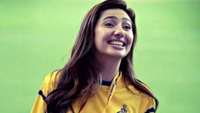 اداکارہ مائرہ خان پشاور زلمی کی برانڈ ایمبیسیڈر مقرر