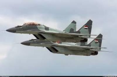 مصر میں فوج کے جزیرہ نما سینائی میں فضائی حملہ