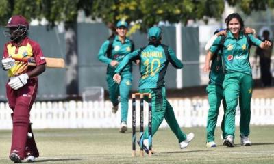 تیسرا ون ڈے،پاکستان نے ویسٹ انڈیز کو 4 وکٹوں سے شکست دے دی