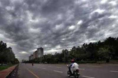ملک کے بعض علاقوں میں گرج چمک کے ساتھ بارش کا امکان