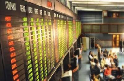 کاروبار کے ابتدائی ڈیڑھ گھنٹے کے دوران کے ایس ای 100 انڈیکس میں 107 پوائنٹس کی کمی