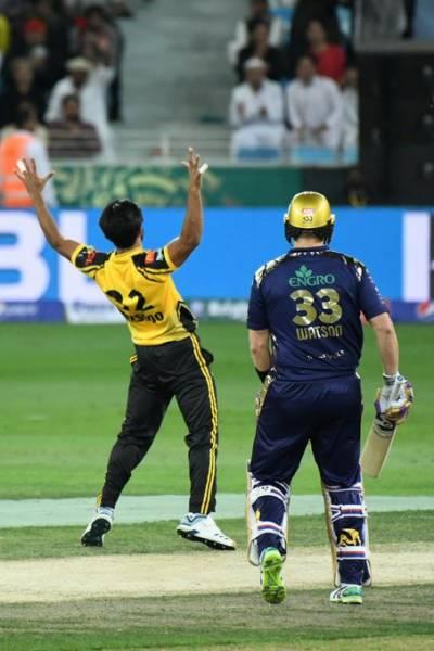 پی ایس ایل 4: کوئٹہ گلیڈی ایٹرز نے پشاور زلمی کو 6 وکٹوں سے شکست دیدی