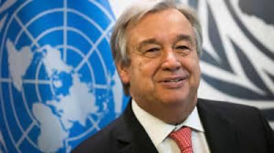 اقوام متحدہ کے سیکرٹری جنرل انتونیوگوتریز نے غزہ میں انسانی صورتحال پرافسوس کا اظہار کیاہے