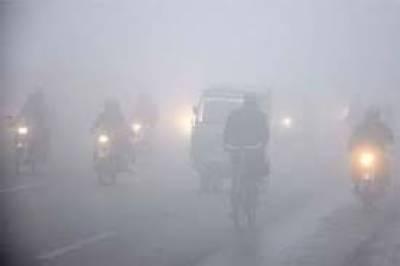 لاہور تا شیخوپورہ موٹروے دھند کے باعث بند
