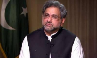 پاکستان میں دہشت گرد تنظیموں کا وجود نہیں ہے۔ شاہد خاقان عباسی