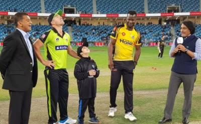 پی ایس ایل،پشاور زلمی کا ٹاس جیت کر فیلڈنگ کا فیصلہ