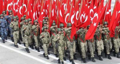 ترکی میں تین سو کے قریب حاضر فوجیوں کی گرفتاری کا حکم