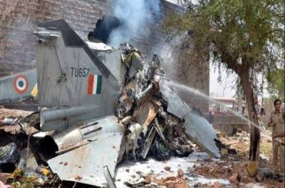 ایک ماہ کے دوران پانچ بھارتی جنگی جہاز گرکر تباہ