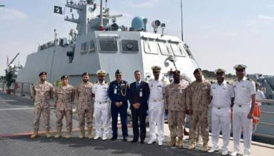 پاک بحریہ اور متحدہ عرب امارات نیوی کی نصل البحر مشقیں