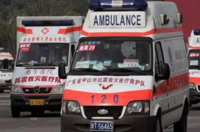 چین:بس کے حادثے میں 21 افراد ہلاک