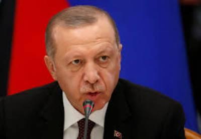 ترکی اور شام کے درمیان سرحد ہمارے کنٹرول میں ہونی چاہیے: رجب طیب اردوان