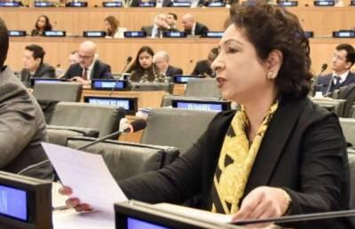 بھارتی جارحیت اقوام متحدہ کے منشور،بین الاقوامی قوانین کی کھلی خلاف ورزی ہے :ملیحہ لودھی