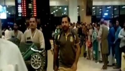 پی ایس ایل کے میچز کھیلنے کے لیے کھلاڑیوں کی پاکستان آمد شروع