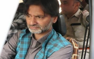 مقبوضہ کشمیر میں یاسین ملک پر غیرقانونی قانون پبلک سیفٹی ایکٹ عائد