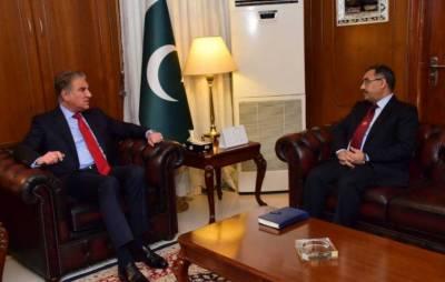 پاکستان بھارت کے ساتھ کشیدگی کا خاتمہ چاہتا ہے: وزیرخارجہ شاہ محمود قریشی