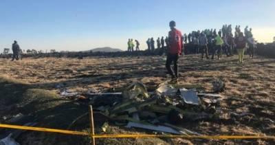 ایتھوپیا میں طیارہ حادثہ، امریکی ٹیم تحقیقات کرے گی