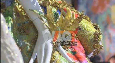 Chinese couturier's works exhibit in Southern California