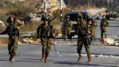 اسرائیلی فوج نے مقبوضہ مغربی کنارے میں دوفلسطینیوں کوشہید کردیا