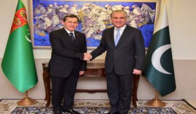پاکستان ترکمانستان کے ساتھ تعلقات کومزیدفروغ دے گا:وزیر خارجہ