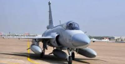 پاکستان کا جے ایف 17 سے میزائل مارنے کا کامیاب تجربہ