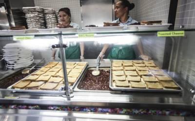 نیویارک میں پیر کے روز اسکولوں میں گوشت سے بنے کھانے دستیاب نہیں ہوں گے۔