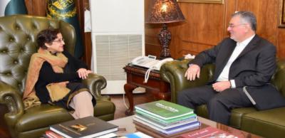 سیکرٹری جنرل ای سی اواور سیکرٹری خارجہ کاباہمی دلچسپی کے امورپرتبادلہ خیال