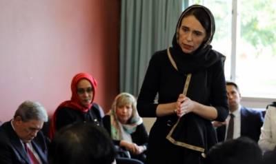 سیاہ لباس اور سرپردوپٹہ: نیوزی لینڈ کی وزیراعظم کی مسلم کمیونٹی سے تعزیت