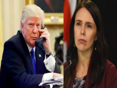 نیوزی لینڈ کی وزیراعظم نے امریکی صدر ٹرمپ کو لاجواب کر دیا