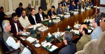 وزیراعلی خیبرپختونخوا کاضلع کوہاٹ کیلئے جامع ترقیاتی پیکج کا اعلان