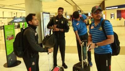 کرائسٹ چرچ حملے میں محفوظ رہنے والی بنگلا دیشی ٹیم واپس وطن پہنچ گئی
