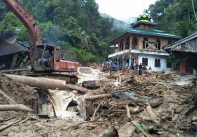 انڈونیشیا میں بارش اور سیلاب،50 افراد ہلاک